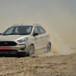 Ford Freestyle review front three quarters view