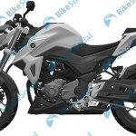 Haojue HJ300-A or Suzuki-GSX-S300 leaked patent left side