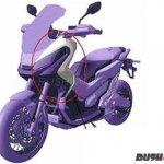 Honda X-ADV India patent image