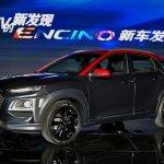 Hyundai Encino front three quarters left side