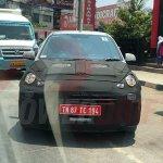 Hyundai Santro (Hyundai AH2) spied front