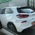 Hyundai i30 spied in India tail