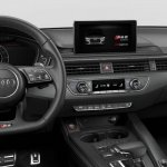 Indian-spec 2018 Audi RS 5 Coupe Sonoma Green Metallic interior dashboard