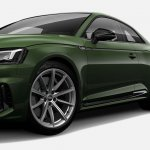 Indian-spec 2018 Audi RS 5 Coupe Sonoma Green Metallic left side
