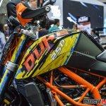 KTM 250 Duke Special Edition at 2018 BIMS fuel tank