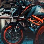 KTM 390 Duke StreetX2 by Autologue Design fuel tank