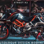 KTM 390 Duke StreetX2 by Autologue Design left side