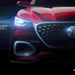 MG X-Motion concept front fascia teaser