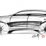MG X-Motion concept sketch