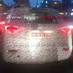 Mahindra S201 (SsangYong Tivoli based SUV) spied with production tail lamps