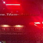 Mahindra S201 (SsangYong Tivoli based SUV) tail lamp signature