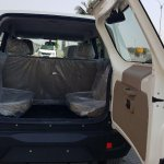 Mahindra TUV300 Plus entry level trim rear door open