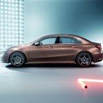 Mercedes A-Class L Sedan Rose Gold profile