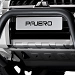 Mitsubishi Pajero Final Edition 3-door front bar and skid plate