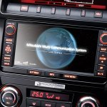 Mitsubishi Pajero Final Edition 5-door infotainment system