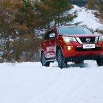 Nissan Terra off-roading