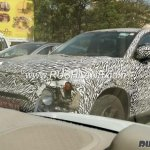 Production Tata H5X exterior spy shot
