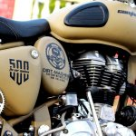 Royal Enfield Classic 500 Combat side panels