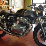 Royal Enfield Continental GT 650 new colour at AU dealer right side