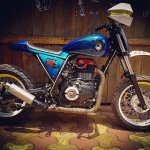 Royal Enfield Himalayan D-71 Fiddler by Bulleteer Customs right side