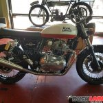 Royal Enfield Interceptor INT 650 new colour at AU dealer right side