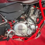 SWM SuperDual T showcased engine