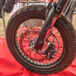 SWM SuperDual T showcased front wheel