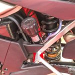 SWM SuperDual T showcased rear suspension