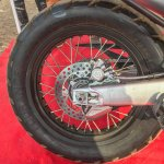 SWM SuperDual T showcased rear wheel