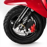 Scomadi TL 125 press front wheel