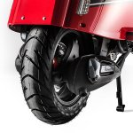 Scomadi TL 125 press rear wheel