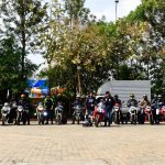 TVS Apache Owner's Group South Chapter group shot