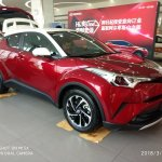Toyota Izoa front three quarters