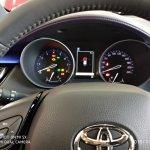 Toyota Izoa instrument cluster