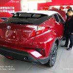 Toyota Izoa rear three quarters