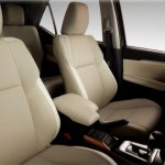 Toyota SW4 Diamond (Toyota Fortuner Diamond) front seats