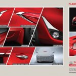 Toyota Yaris Accessories brochure external