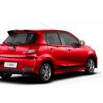2018 Datsun GO (facelift) rear three quarters