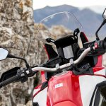 2018 Honda Africa Twin press cockpit