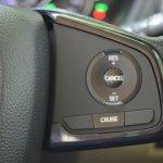 2018 Honda Amaze cruise control buttons