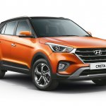 2018 Hyundai Creta facelift dual tone passion orange and black