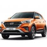 2018 Hyundai Creta facelift front angle