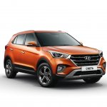 2018 Hyundai Creta facelift front three quarters