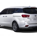 2018 Kia Carnival (facelift) rear three quarters