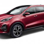 2018 Kia Sportage (facelift) front three quarters