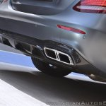 2018 Mercedes-AMG E 63 S review exhaust
