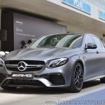 2018 Mercedes-AMG E 63 S review front three quarters view