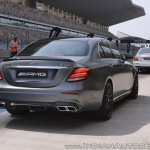 2018 Mercedes-AMG E 63 S review rear three quarters