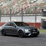 2018 Mercedes-AMG E 63 S review track action shot