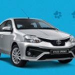 2018 Toyota Etios front three quarters